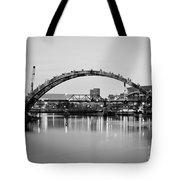 Henley Street Bridge Renovation 3 Tote Bag