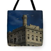 Hennebique Silos 1 Industrial Archeology Abandoned Places Tote Bag by Enrico Pelos