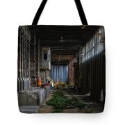 Hennebique Silos 3 Industrial Archeology Abandoned Places Tote Bag by Enrico Pelos