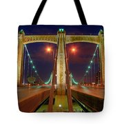 Hennepin Avenue Bridge Minneapolis Tote Bag
