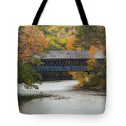 Henniker Covered Bridge Tote Bag