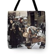 Henningsen  Evicted 1890 Tote Bag