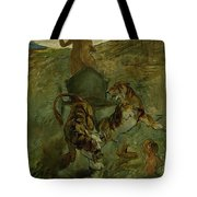 Henri From Toulouse-lautrec 1864 - 1901 Allegory, The Life Spring Tote Bag