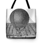 Henri Giffard: Balloon Tote Bag
