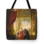 Henri Iv And His Mistress Tote Bag