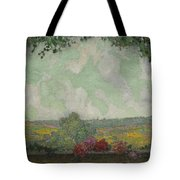 Henri Le Sidaner 1862 - 1939 View From The Terrace Tote Bag