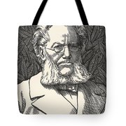 Henrik Ibsen, Norwegian Playwright Tote Bag