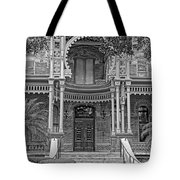 Henry B. Plant Museum Entry Bw Tote Bag