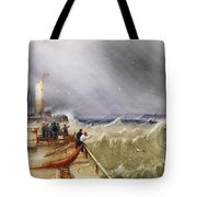 Henry Barlow Carter 1795-1867 Loss Of The Scarborough Lifeboat 24 May 1836 Tote Bag