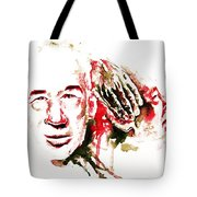 Henry Miller Portrait  Tote Bag by Alexandra-Emily Kokova