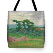 Henry Moret 1856 - 1913 The Plough Tote Bag