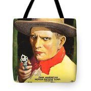 Henry Starr In A Debtor To The Law 1919 Tote Bag