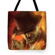 Henry The Red Tote Bag