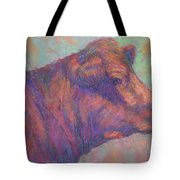 Henry's Red Angus Tote Bag