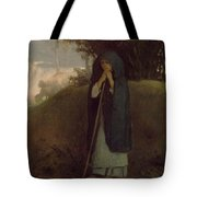 hepherdess Leaning on her  Tote Bag