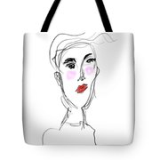 Her Day Tote Bag