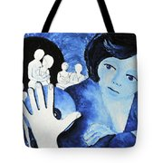 Her Ghosts Of The Past...always Past And Present... Tote Bag