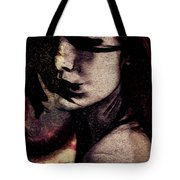 Her Heart Is A Wild Fire  Tote Bag