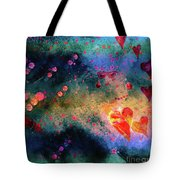 Her Heart Shines Through Tote Bag