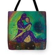 Her Loves Embrace Divine Love Series No. 1006 Tote Bag