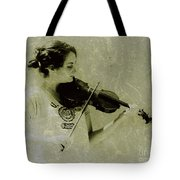 Her Music Tote Bag