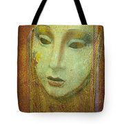 Her Party Face Tote Bag
