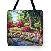 Her Reading Hideaway Tote Bag