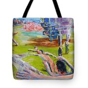 Her Recreations Tote Bag