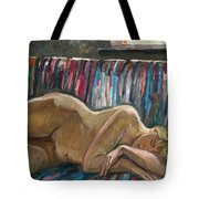 Her Sleep Tote Bag