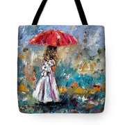 Her White Dress Tote Bag