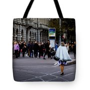 Her With The Cape Tote Bag
