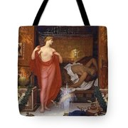 Hera In The House Of Hephaistos Tote Bag