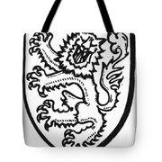 Heraldry: Lion Tote Bag