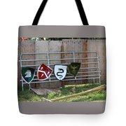 Heraldry Shields At Renfaire Tote Bag