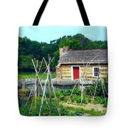 Herb And Vegetable Garden Tote Bag
