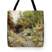 Herbaceous Border  Tote Bag