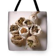 Herbal Teas And Seeds Tote Bag