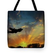 Hercules In The Morning Tote Bag