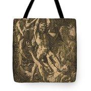 Hercules Killing Cacus Tote Bag