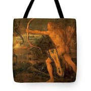 Hercules Kills The Symphalic Bird 1520 Tote Bag