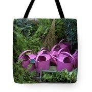 Herd Of Watering Cans Tote Bag