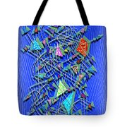 Here And There - Scattered Thoughts Tote Bag