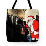 Here Come Santa Tote Bag