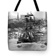 Here Come The Pirates Tote Bag by David Lee Thompson