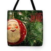Here Comes Santa Claus Tote Bag