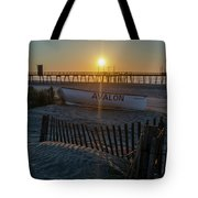 Here Comes The Sun - Avalon New Jersey Tote Bag