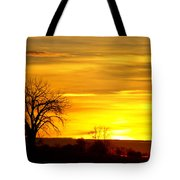 Here Comes The Sunrise Tote Bag