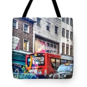 Here In London Tote Bag