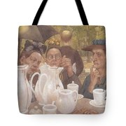 Here The Family Can Make Coffee Tote Bag