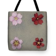 Heredity In Primula Sinensis, Mendel Tote Bag